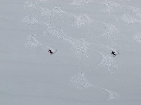 Guiding last week in great spring conditions. Photo: Jimmy Halvardsson