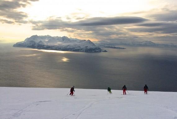 A classic ski to the sea tour!