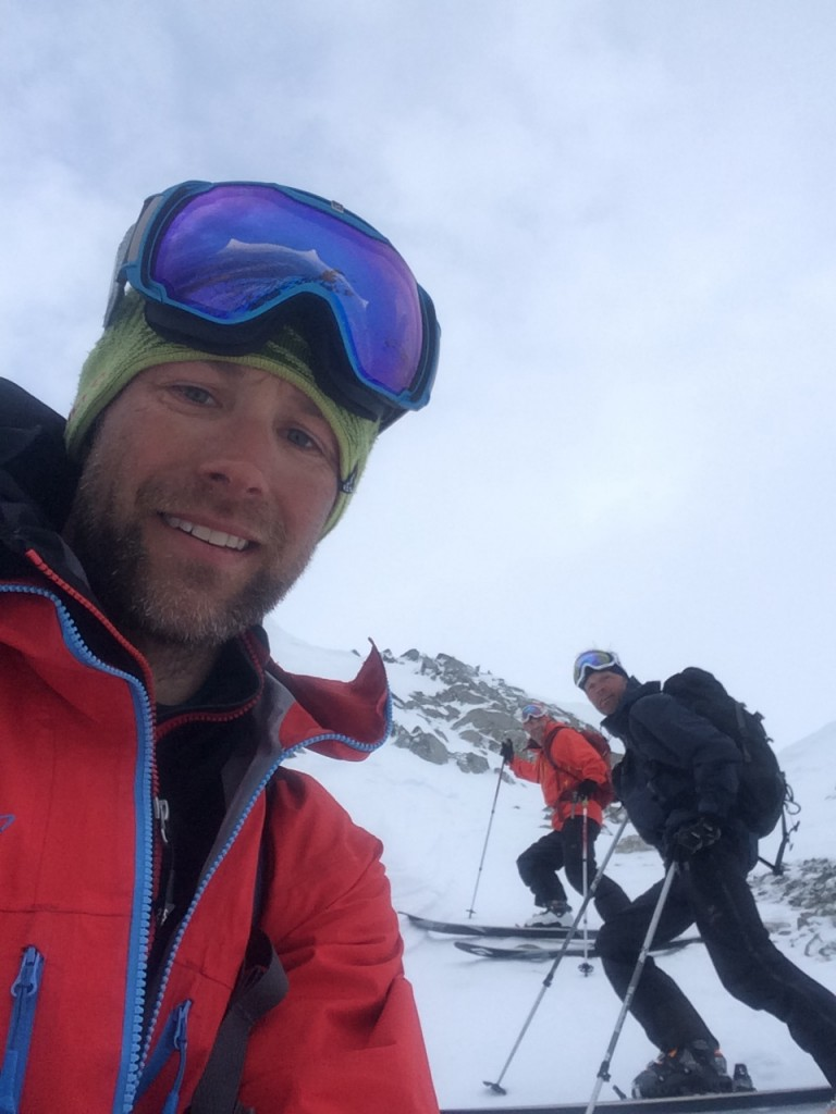 We skied one of the couloirs close to the lodge the other day as a afternoon additional. Great day out with two spectacular runs! Selfie: Jimmy Halvardsson