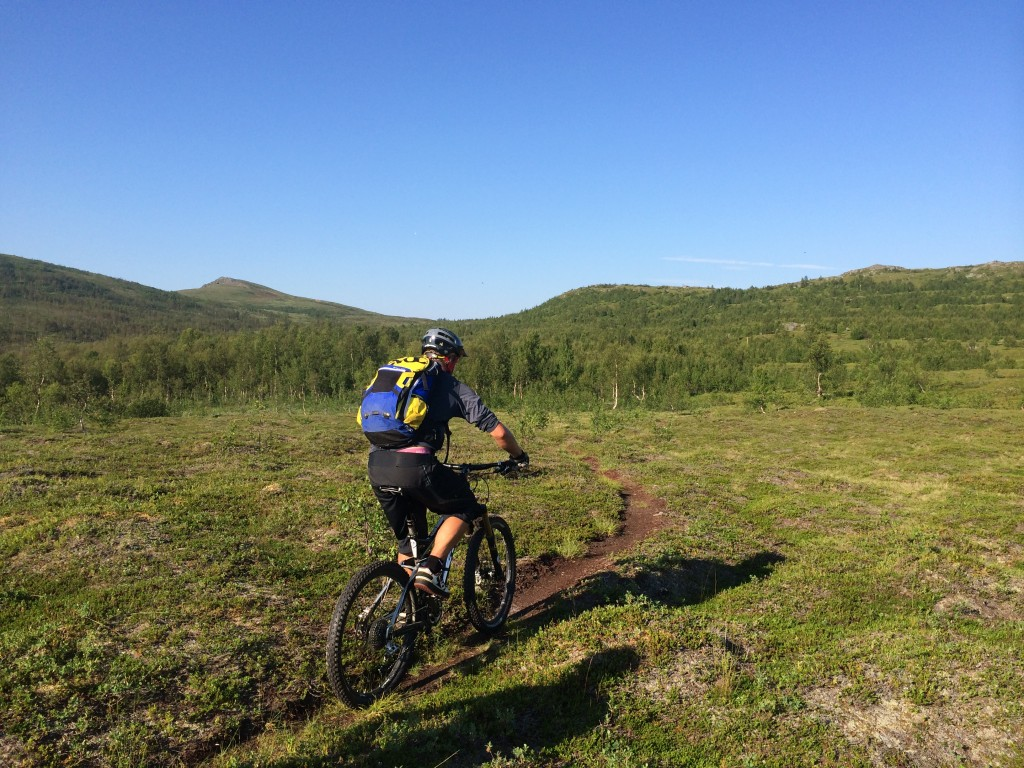 Fantastic natural trails around the city of Tromsø