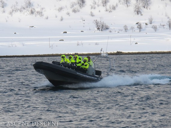 With the new boat we can ski the Islands in the sea! Photo: Jimmy Halvardsson
