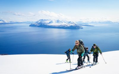 Ski season in the Lyngen alps closing in
